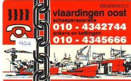 NEDERLAND CHIP TELEFOONKAART CRD 444 * VLAARDINGEN * Telecarte A PUCE PAYS-BAS ONGEBRUIKT MINT - Nederland