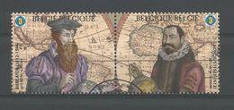 Belgium 2012 Cartography Pair OCB 4224/4225 (0) - Belgien