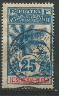 Haut Sénégal Et Niger - Yvert N° 8 Oblitéré    -  Ava24305 - Upper Senegal And Nigeria (1904-1921)