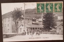 SAIL SOUS COUZAN (42) Les Bains. Carte Animée - Autres Communes
