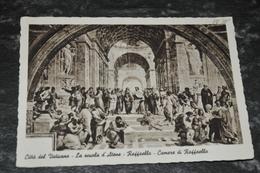3021- Citta Del Vaticano, La Scuola D'Atene, Raffaello, Camere Di - 1938 - Vaticano