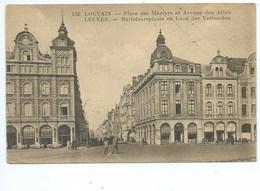 Leuven Louvain Place Des Martyrs Et Avenue Des Alliés - Leuven