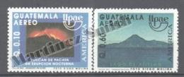 Guatemala 1991 Yvert A-838A-38B, America UPAEP - Airmail - MNH - Guatemala