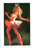 Femme - PIn-Up - Illustrateur - Danseuse  - A Mutoscope Card - Art Et Collections Affiche - Demi Nue - Pin-Ups