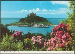 St Michael's Mount, Cornwall, C.1970s - John Hinde Postcard - St Michael's Mount