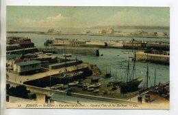 ANGLETERRE JERSEY ST HELIER Vue Du Port 1910  /D04-2016 - Jersey