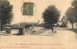 SAINT MICHEL SUR ORGE LE PASSAGE SOUTERRAIN ET LA GARE - Saint Michel Sur Orge