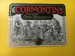 8812 - Algérie Cormontin Oran Mostaganem - Etiquettes