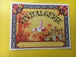 8813 - Algérie - Etiquettes