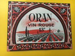 8814 - Algérie Oran 13o Et 12o 2 étiquettes - Etiquettes