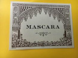 8816 - Algérie Mascara - Etiquettes