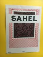 8817 - Algérie Sahel - Etiquettes