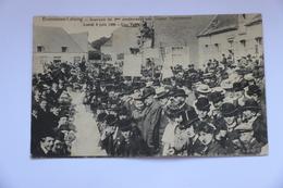 A 855 - Ecaussines Goûter Matrimonial Une Table Lundi 4 Juin 1906 - Ecaussinnes