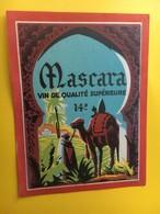8819 - Algérie Mascara - Etiquettes