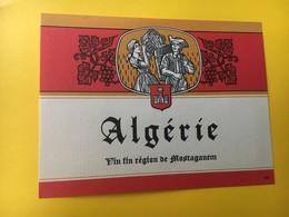 8820 - Algérie - Etiquettes