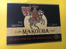 8821 - Algérie Makouba Mostaganem - Etiquettes