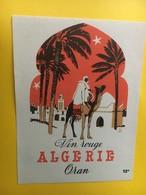 8823 - Algérie Oran - Etiquettes