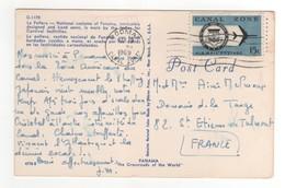 Beau Timbre , Stamp  Sur CP , Carte , Postcard Du 19 MAR 1969 - Panama