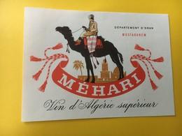 8827- Algérie Méhari Mostaganem - Etiquettes