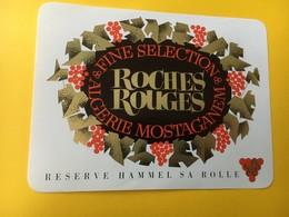 8829 - Algérie Roches Rouges Mostaganem - Etiquettes