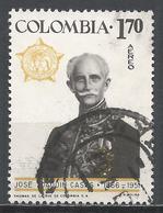 Colombia 1967. Scott #C487 (U) José Joaquin Casas (1866-1951), Educator, Diplomat * - Colombie
