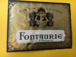 8832 Algérie Fontaurie Mostaganem - Etiquettes