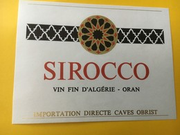 8833 Algérie Sirocco Oran - Etiquettes