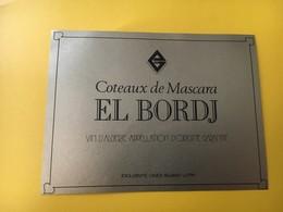8834 Algérie El Bordj Masacara - Etiquettes
