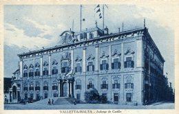 MALTA - Vallette - Auberge De Castille - Malta