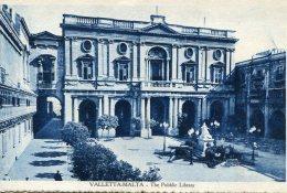 MALTA - Vallette - The Pubblic Library - Malta