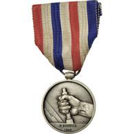 France, Médaille Des Cheminots, Médaille, 1942, Très Bon état, Favre-Bertin - Army & War