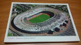 Glasgow Hampden Park Stadium Cartolina Stadio Postcard Stadion AK Carte Postale Stade Estadio - Calcio