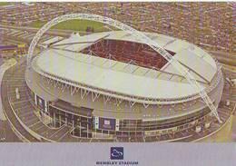 London Wembley Set A 6/6 Stadium Cartolina Stadio Postcard Stadion AK Carte Postale Stade Estadio - Calcio