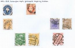 Poland: Austrian Stamps Cancelled Krakau + Austrian Occ. Rusian Poland 1915-1918 - Poland