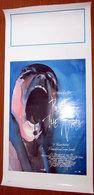 PINK FLOYD THE WALL LOCANDINA IGE. ROMA  70 X 33,5 CM. - Manifesti & Poster