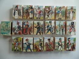 Boîte D'Allumettes  Empire  Série Soldat  19 Boîtes   Format ( 8x5,5x2,4 ) - Boites D'allumettes