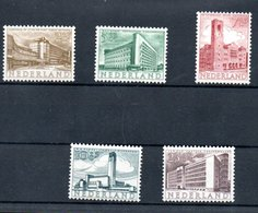Pays Bas   / Série N 634 à 638 / NEUFS** - 1949-1980 (Juliana)