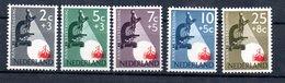 Pays Bas   / Série N 639 à 643 / NEUFS Avec Trace De Charnière - Period 1949-1980 (Juliana)