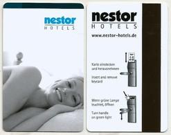 Deutschland / Germany Hotel- / Schlüsselkarte Von Der Hotelkette Nestor - Hotelkarten