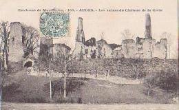 Allier        800      Environs De Montluçon.AUDES.Les Ruines Du Château De La Crèle - Otros Municipios