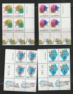 Taiwan China Chinese New Years Stamps. MNH - 1945-... República De China