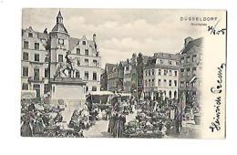 DUSSELDORF Markplatz Karte Vorstufe - Märkte