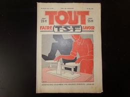 """Revue """" Tout Faire, Tout Savoir """" N° 86 Du 29 Mai 1932 """" Construisez Vous-même Une Balance Roberval """" - Livres, BD, Revues"""