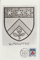 Jersey Carte Maximum 1981 Blasons 246 - Jersey