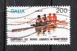 Italia   -   1982.  Campionati  Mondiali  Juniores  Di  Canottaggio.  Viaggiato - Canottaggio