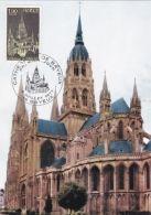 Bayeux -  Cathédrale - Carte 1er Jour - Bayeux