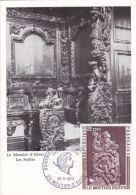 Le Moutier D'Ahun - Stalles - Carte 1er Jour - Moutier D'Ahun