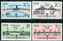 DDR - Mi 2972 / 2975 - ** Postfrisch (A) - Historische Brücken In Berlin - [6] Oost-Duitsland