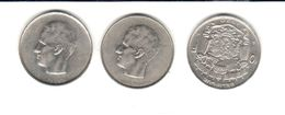 Belgique - 3 Pièces De 10 Francs - Baudouin I - 1970 - 1974 - 1976 - 1951-1993: Baudouin I