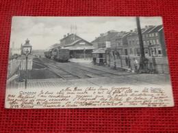 GENAPPE  -  La Station - Vue Intérieure De La Gare - Genappe